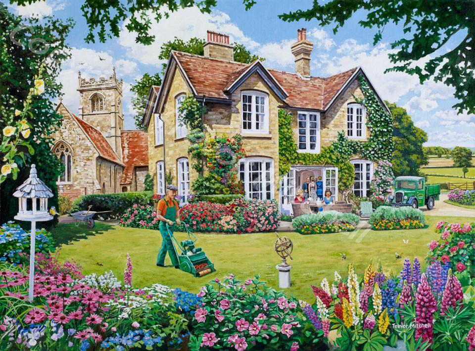 Gardening Trevor Mitchell Artist
